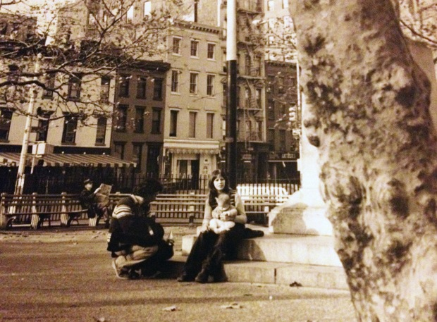 Cristina in NYC circa 1973