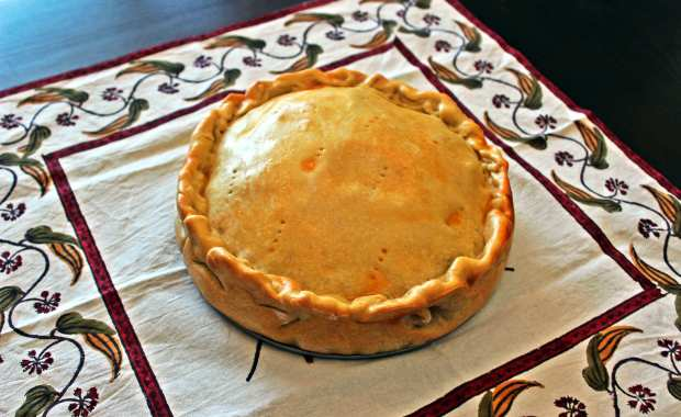 pie cooked